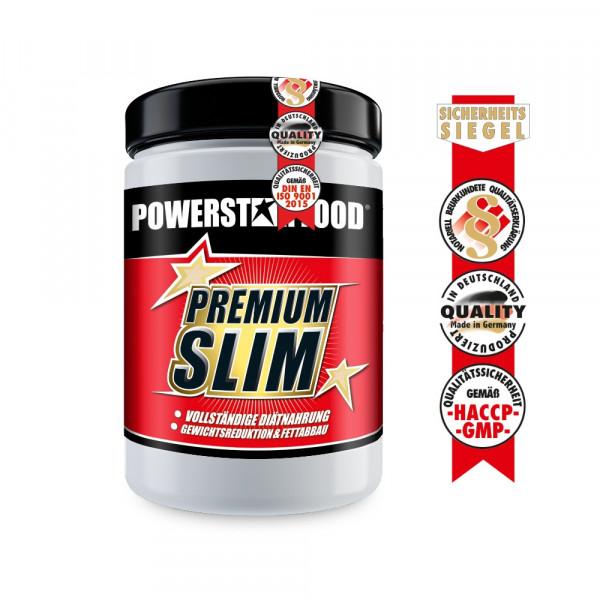 Powerstarfood - PREMIUM SLIM,Mahlzeitenersatz Shake zum Abnehmen, 500 g