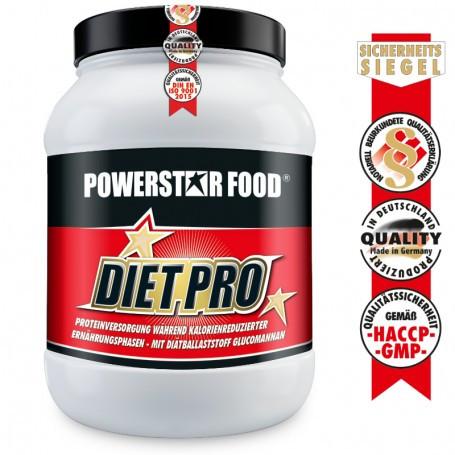 Powerstarfood DIET PRO - Diät Protein - 1000g Pulver
