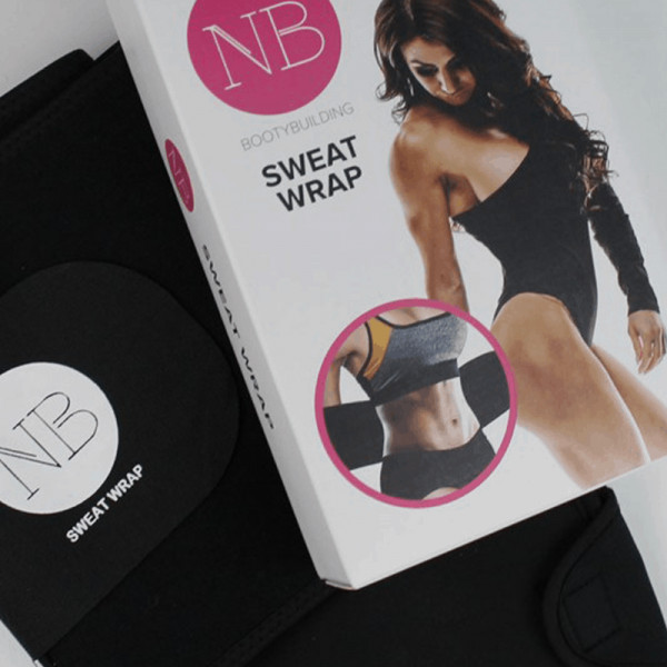 Nadja Barnova Bootybuilding Sweat Wrap - 1 Gürtel