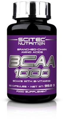 Scitec Nutrition BCAA 1000, 100 Kapseln Dose