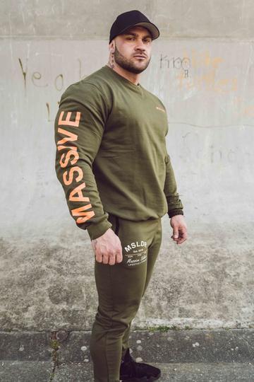 MASSIVE SOLDIER - MSLDR ORANGE SOLDIER SWEATER