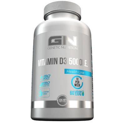 GN - VITAMIN D3 5000IE, 60 Kapsel