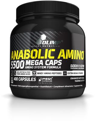 Olimp - AMINO 5500 Mega Caps, 400 Kaps.