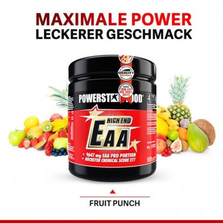 Powerstarfood EAA HIGH END - Essentielle Aminosäuren - 600 g Pulver