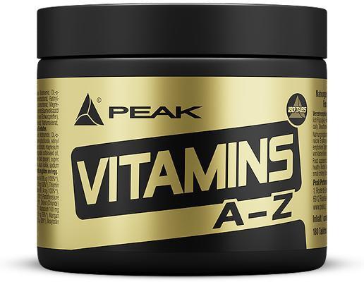 Peak - VITAMIN A-Z, 180 Tabl.