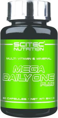 Scitec Nutrition - MEGA DAILY ONE PLUS, 60 Kaps.