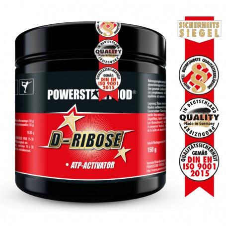 Powerstarfood D-RIBOSE PUR - 150 g Pulver