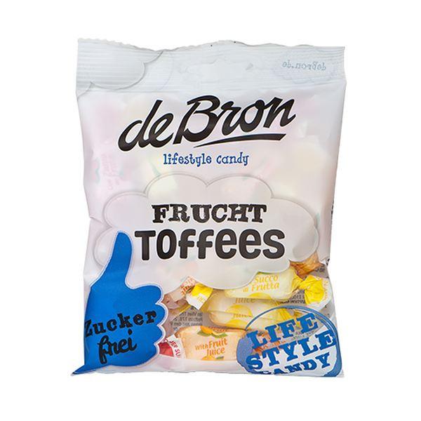 DE Bron - Frucht Toffees - 90g