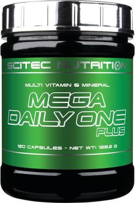 Scitec Nutrition Mega Daily One Plus, 120 Kapseln Dose