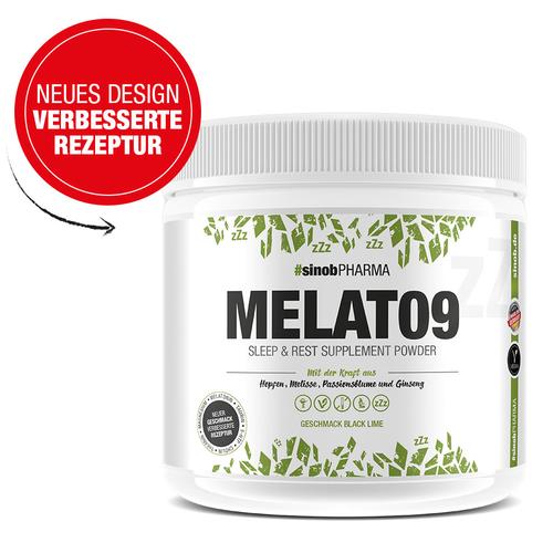 Blackline 2.0 Melato9 Easing Powder, 294 g Dose, Lime