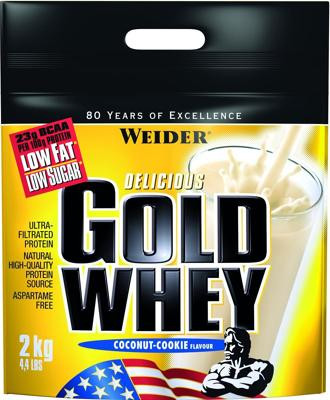 Joe Weider Gold Whey, 2000 g Beutel