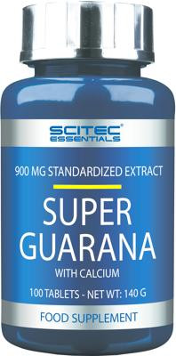 Scitec Essentials - SUPER GUARANA, 100 Tabl.