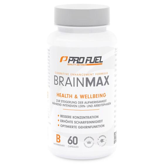 ProFuel Brainmax - 100% Vegan - 60 Kapsel