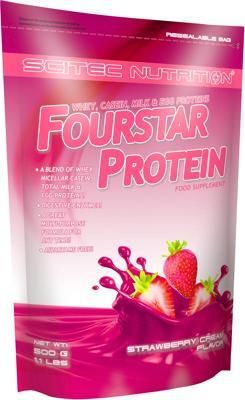 Scitec Nutrition Fourstar Protein, 500 g Beutel