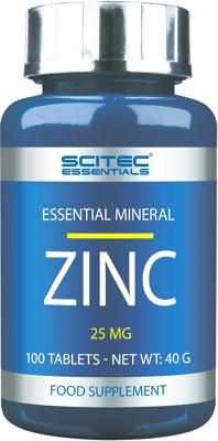 Scitec Essentials Zinc, 100 Tabletten Dose