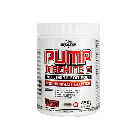 BWG Pump Machine 1 Pre Workout Booster (ohne Koffein) (450g)