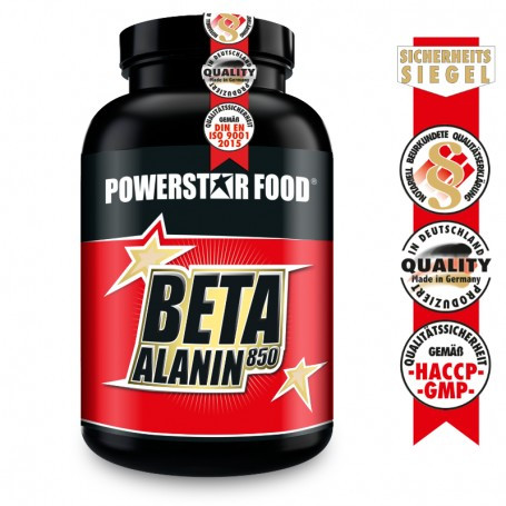 Powerstarfood BETA ALANIN 850 - 300 Kapseln
