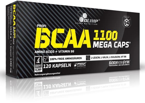 Olimp - BCAA MEGA CAPS, 120 Kaps.