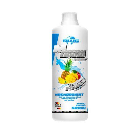 BWG Magnesium Liquid 7500 + Vitamin C, Tropical Fruits - 500ml