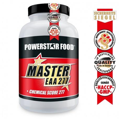 Powerstarfood MASTER EAA - Essentielle Aminosäuren - 200 Kapseln