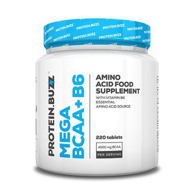 Protein.Buzz - MEGA BCAA+B6, 220 Tbl.