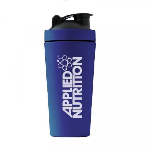 Applied Nutrition Metal Shaker blue - 750ml