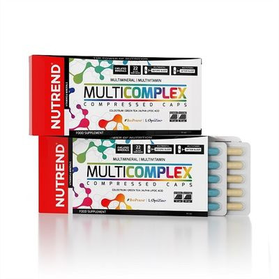 Nutrend - MULTICOMPLEX Compressed, 60 Kaps.