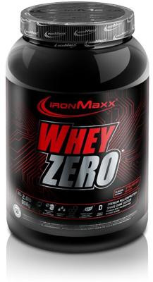 IronMaxx Whey Zero, 908g/ 2270 g Dose