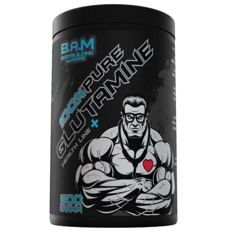 B.A.M. - 100% PURE L-GLUTAMIN, 500g