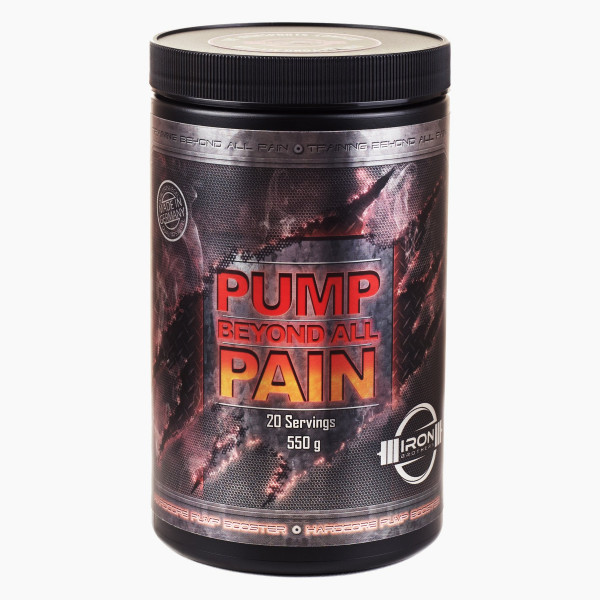 Iron Brothers® Pump beyond all Pain 550g (Pump Booster)