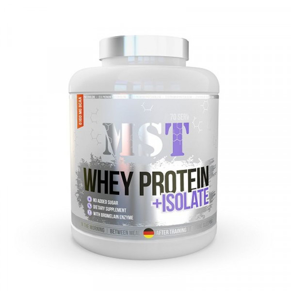 MST - WHEY PROTEIN + ISOLATE, Blueberry, 900g