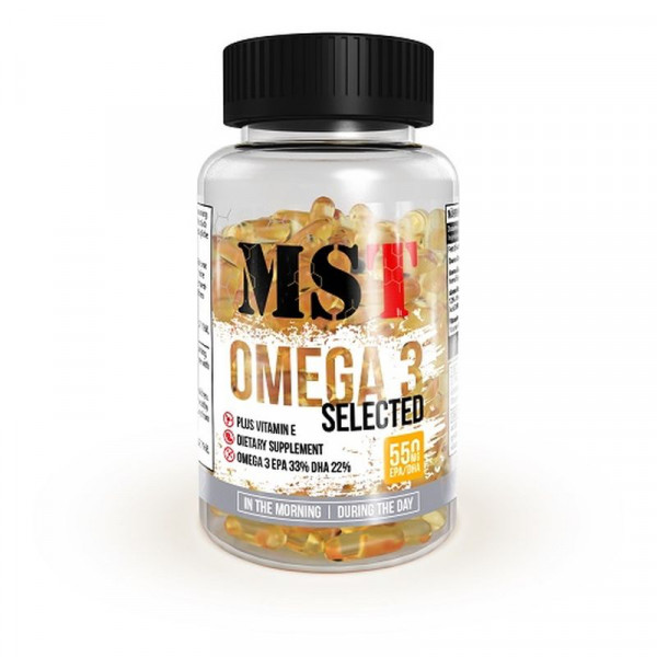 MST - OMEGA 3 Selected, 120 Kaps.