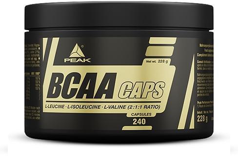 Peak - BCAA Caps, 240 Kaps.