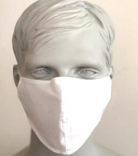 Mund Nase Schutzmaske - weiß