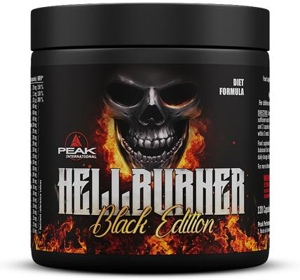 Peak - HELLBURNER, Black Edition, 120 Kaps.