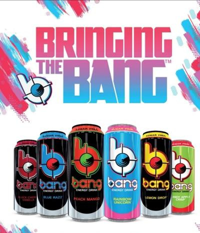 VPX BANG - RTD Energy Drink, 1x 500ml, MIX YOUR TRAIL incl. 0,25€ Pfand