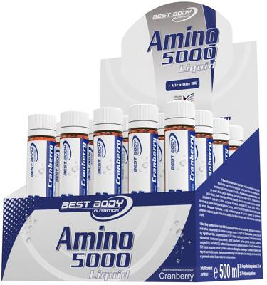 Best Body Nutrition Amino Liquid 5000, 20 x 25 ml Ampullen