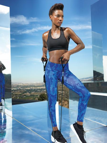Women's TriDri® performance crossline leggings full-length