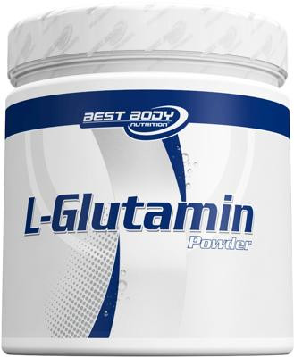 Best Body Nutrition L-Glutamin Pulver, 250 g Dose