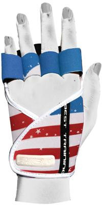 Chiba Lady Motivation Glove, Royal/Weiß/Rot