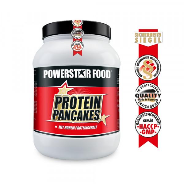 Powerstarfood PROTEIN PANCAKES - Eiweiß Pfannkuchen - 1000 g Pulver
