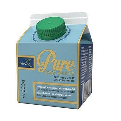NovoX Pure EGG White - 300ml MHD 11.09.20 Statt 2,99€ nur 2,39€