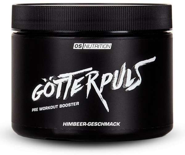 OS NUTRITION Götterpuls Pre Workout Booster, 308g Dose