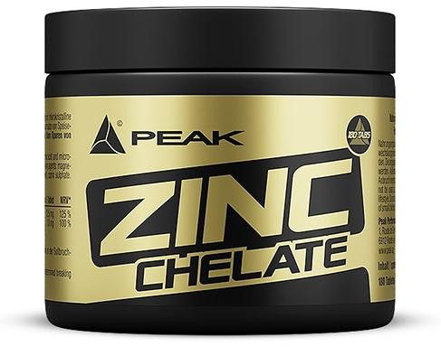 Peak Performance Zinc Chelat, 180 Tabletten Dose