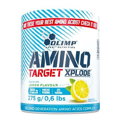Olimp Amino Target Xplode Lemon Flavour 275g