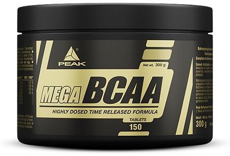Peak Performance Mega BCAA, 150 Tabletten Dose