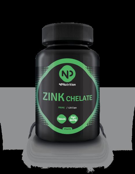 NP Nutrition - ZINK, Chelate 50mg, 120 Kaps.