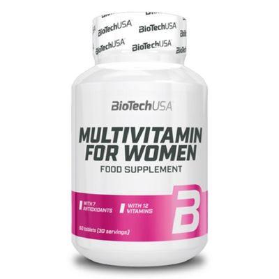 BioTech - MULTIVITAMIN, für Frau, 60 Tabl.