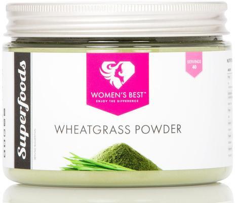 Womens Best Wheatgrass Powder, 200 g Dose