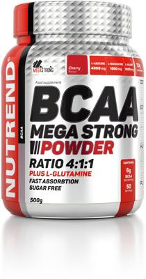 Nutrend - BCAA Mega Strong Powder, 500 g